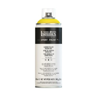 Liquitex 400ml Professional Acrylic Spray Paint - Cadmium Yellow Medium Hue