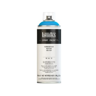 Liquitex 400ml Professional Acrylic Spray Paint - Fluorescent Blue