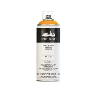 Liquitex 400ml Professional Acrylic Spray Paint - Fluorescent Orange