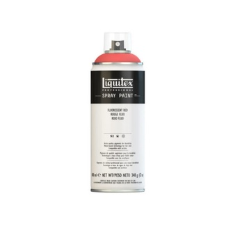 Liquitex 400ml Professional Acrylic Spray Paint - Fluorescent Red