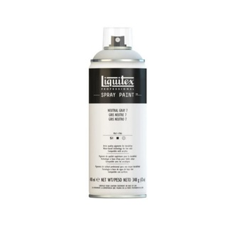 Liquitex 400ml Professional Acrylic Spray Paint - Neutral Grey 7