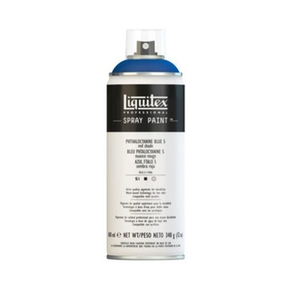 Liquitex 400ml Professional Acrylic Spray Paint - Phthalo Blue 5 (Red Shade)