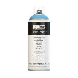 Liquitex 400ml Professional Acrylic Spray Paint - Phthalo Blue 7 (Red Shade)