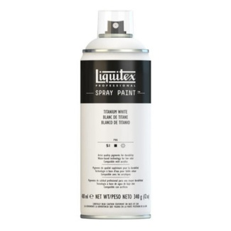 Liquitex 400ml Professional Acrylic Spray Paint - Titanium White