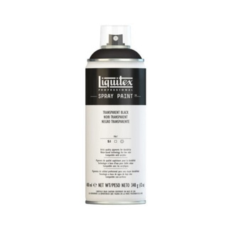 Liquitex 400ml Professional Acrylic Spray Paint - Transparent Black