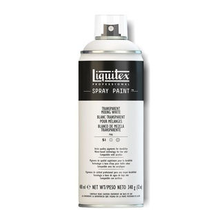 Liquitex 400ml Professional Acrylic Spray Paint - Transparent Mixing White
