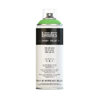 Liquitex 400ml Professional Acrylic Spray Paint - Vivid Lime Green