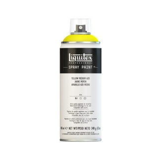 Liquitex 400ml Professional Acrylic Spray Paint - Yellow Medium Azo