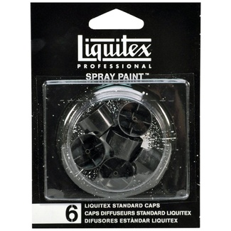 Liquitex Spray Paint Nozzle Pack 6pc - Standard