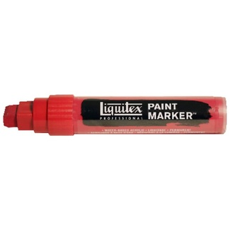 Liquitex Paint Marker Wide 15mm Nib - Cadmium Red Deep Hue