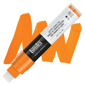 Liquitex Paint Marker Wide 15mm Nib - Cadmium Orange Hue