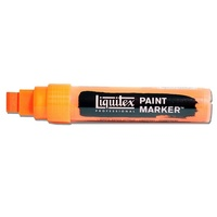 Liquitex Paint Marker Wide 15mm Nib - Fluoro Orange