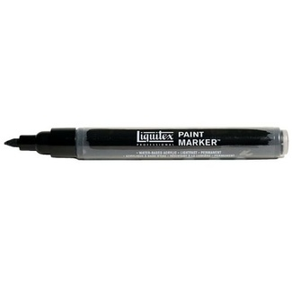 Liquitex Paint Marker Fine 4mm Nib - Carbon Black