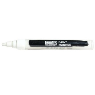 Liquitex Paint Marker Fine 4mm Nib - Titanium White