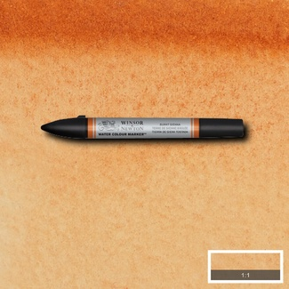 Winsor & Newton Water Colour Marker - S1 Burnt Sienna 074