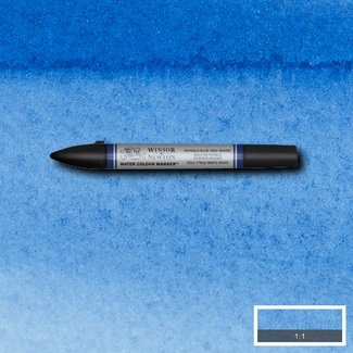 Winsor & Newton Professional Watercolour Marker S2 - Phthalo Blue (Red Shade) 514