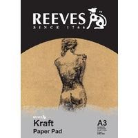 Reeves Kraft Paper Pad A3 110gsm 50 Sheets