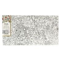 "Johanna Basford Colouring In Canvas - Secret Garden 12"" x 24"" Garden"