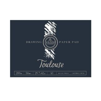 The Paper House - Toulouse Drawing Pad A3 200gsm 50 Sheets