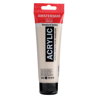 Amsterdam Acrylic Paint 120ml Tube - Naples Yellow Red Light