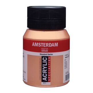 Amsterdam Acrylic Paint 500ml Bottle - Bronze