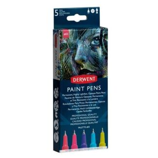 Derwent Paint Pen 5pc - Palette No.3