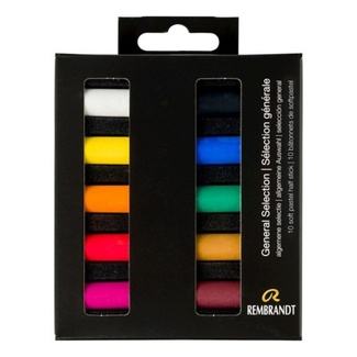 Rembrandt Pastel Mini Set 10pc - General Selection