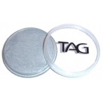 TAG Body Art & Face Paint 32g - Pearl Silver