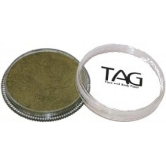 TAG Body Art & Face Paint 32g - Pearl Bronze Green