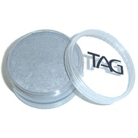 TAG Body Art & Face Paint 90g - Pearl Silver