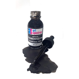 Art Spectrum Pigmented Ink 50ml - Charcoal Grey