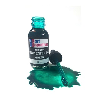 Art Spectrum Pigmented Ink 50ml - Green