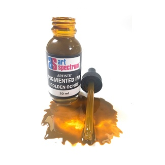 Art Spectrum Pigmented Ink 50ml - Golden Ochre