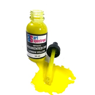 Art Spectrum Pigmented Ink 50ml - Lemon Yellow