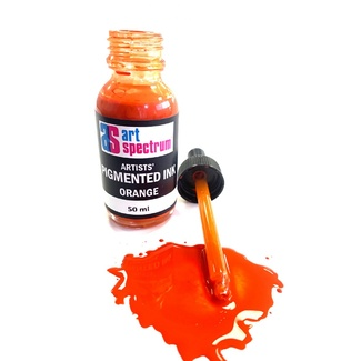 Art Spectrum Pigmented Ink 50ml - Orange