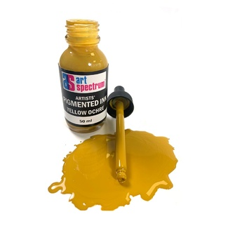 Art Spectrum Pigmented Ink 50ml - Yellow Ochre