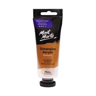 Mont Marte Dimension Acrylic Paint 75ml Tube - Ultramarine Blue