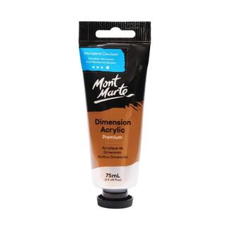 Mont Marte Dimension Acrylic Paint 75ml Tube - Monastral Cerulean