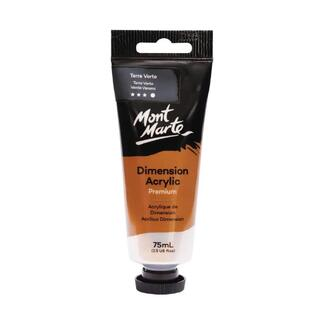 Mont Marte Dimension Acrylic Paint 75ml Tube - Terre Verte