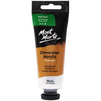 Mont Marte Dimension Acrylic Paint 75ml Tube - Sap Green