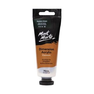 Mont Marte Dimension Acrylic Paint 75ml Tube - Hookers Green Deep