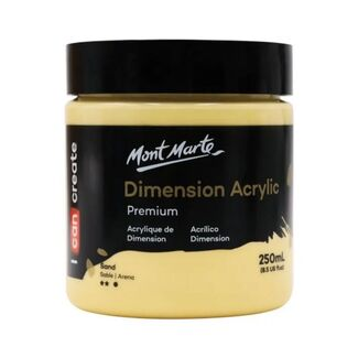 Mont Marte Dimension Acrylic Paint 250ml Pot - Flesh Tint