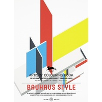 Pepin Artist's Adult Colouring Book 16 Designs - Bauhaus Style