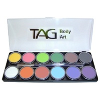 TAG Body Art & Face Paint Palette 12 x 10g - Regular