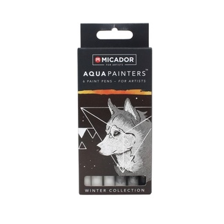 Micador Aqua Painters - Winter Collection 6pc