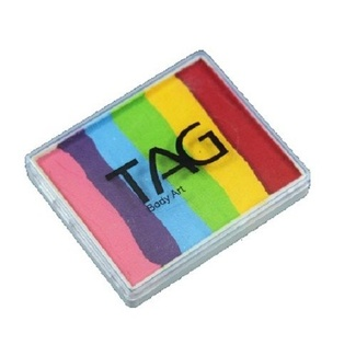 TAG Body Art & Face Paint Split Cake 50g - Rainbow