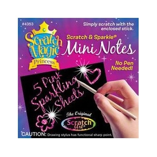 Scratch Magic Mini Notes - Princess 5pc