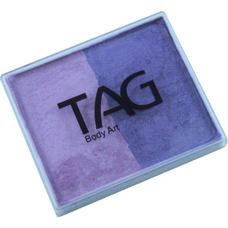 TAG Body Art & Face Paint Split Cake 50g - Pearl Purple/Pearl Lilac