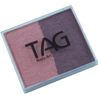 TAG Body Art & Face Paint Split Cake 50g - Pearl Blush/Pearl Wine