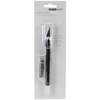 Kaisercraft Tools - Craft Knife with 5 Replacement Blades